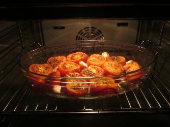 tomaten uit de oven