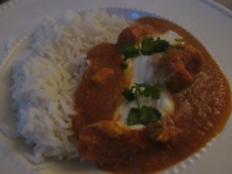 pittige Indiase curry