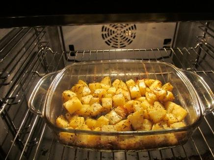 citroen aardappels uit de oven