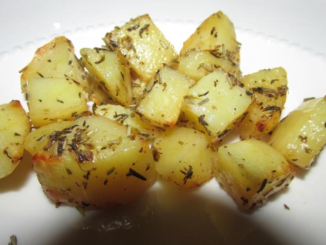 Citroen aardappeltjes