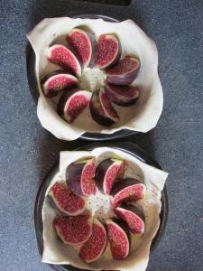 mini quiches met vijgen en geitenkaas