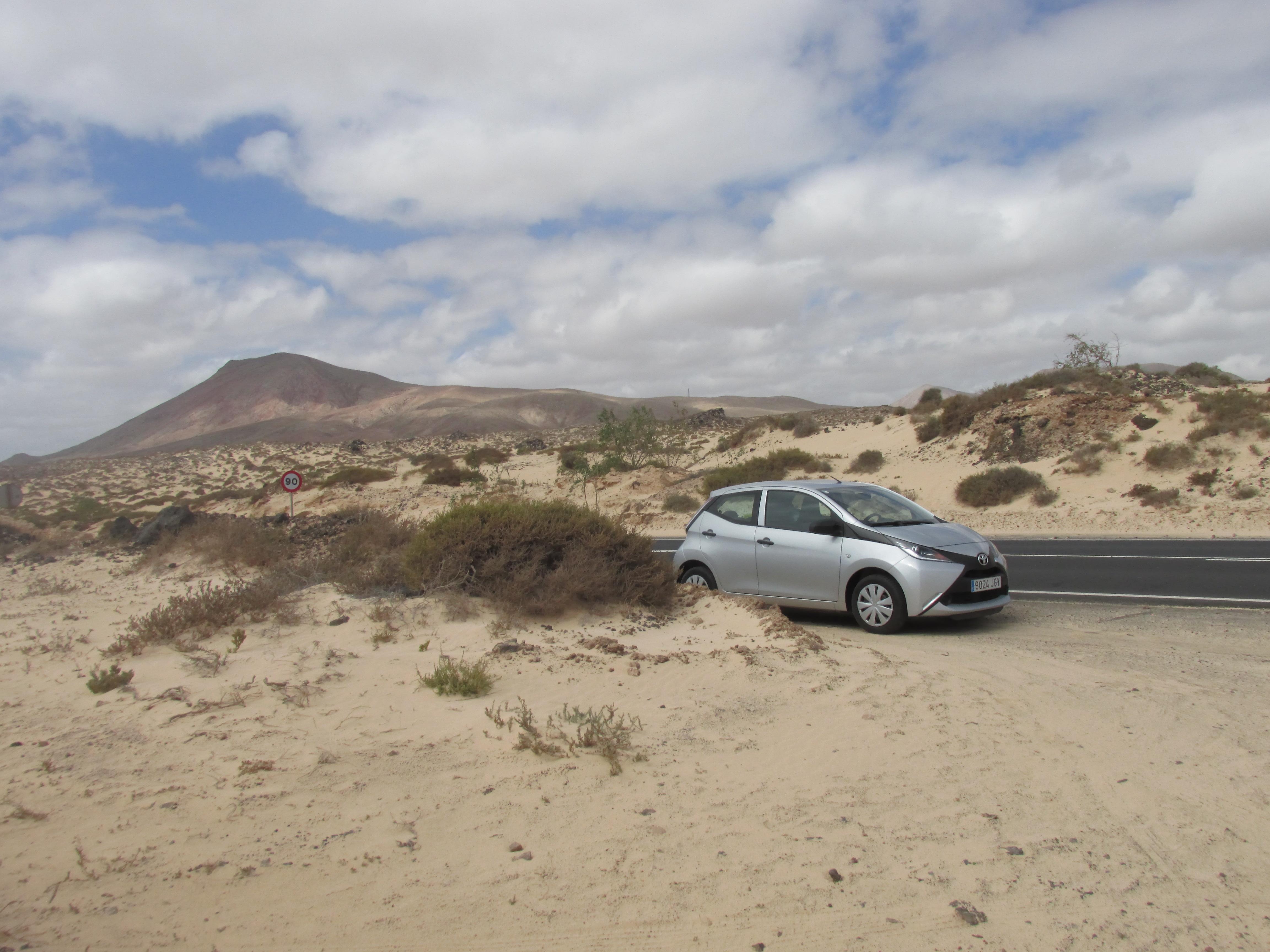 Parque Natural Las Dunas de Corralejo.