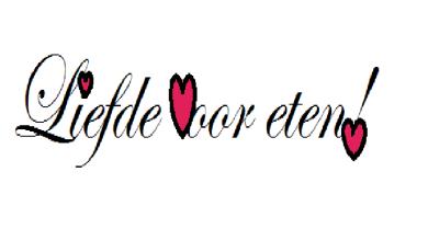 test logo liefde voor eten