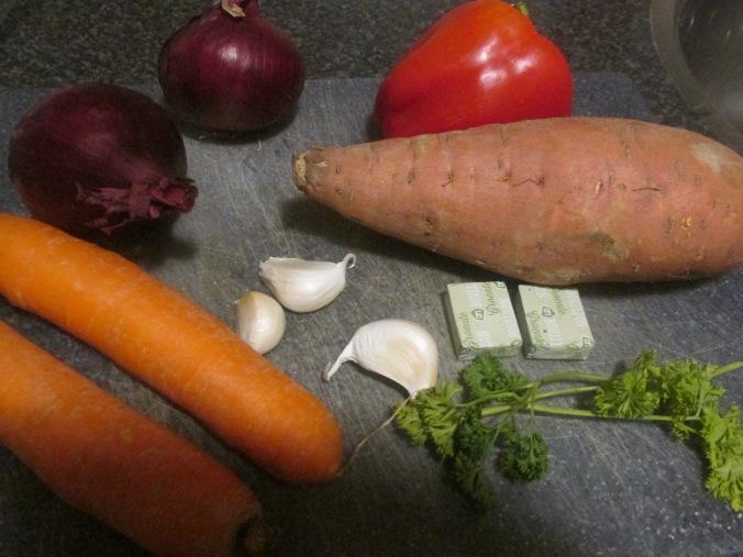 zoete aardappelsoep