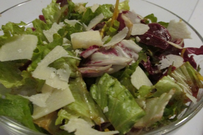 Italiaanse rauwkost salade