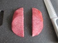 salami hoorntjes met kruidenroomkaas
