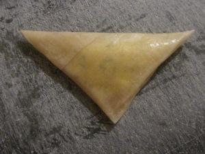 filodeeg driehoekjes met feta