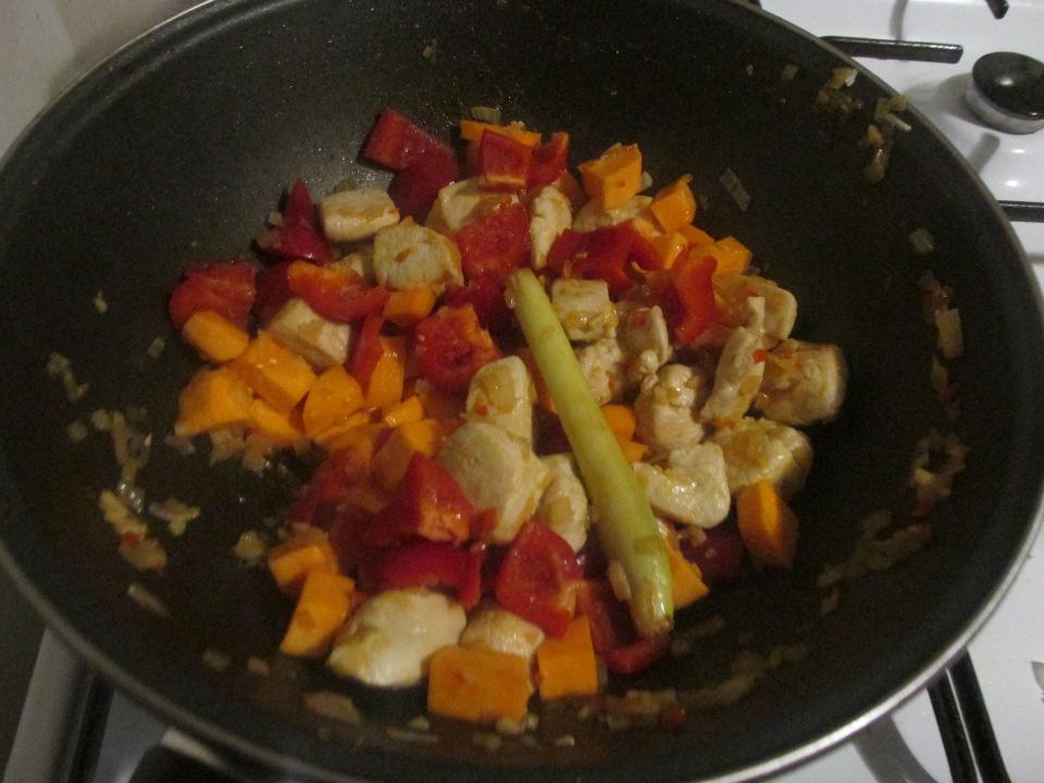 Maaltijd pakket Thaise rode curry van de Jumbo.