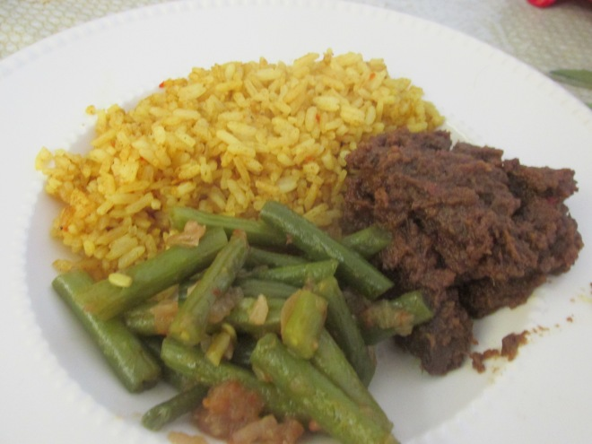 rendang (Indonesisch stoofvlees)