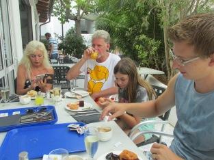 ontbijt, Club Martha's (Cala d'Or)