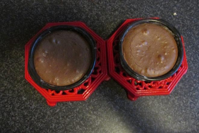 snelle, smeuïge chocoladetaartjes