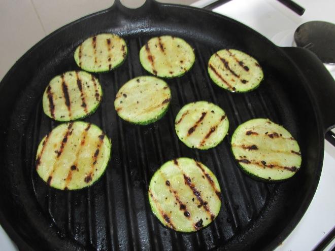 wraps met gegrilde groenten en roomkaas