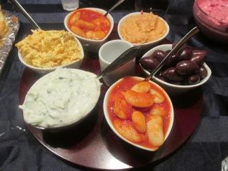 mezze (wortel yoghurt dip)
