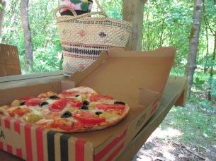 Itterbecker heide, pizza Aspendos (Uelsen)