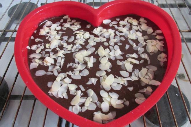 Amandel brownie