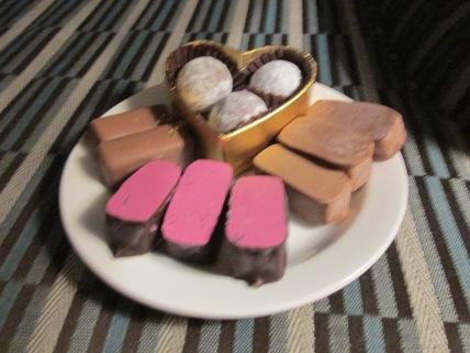 bonbons van de Patissier (de Bijenkorf, Rotterdam)