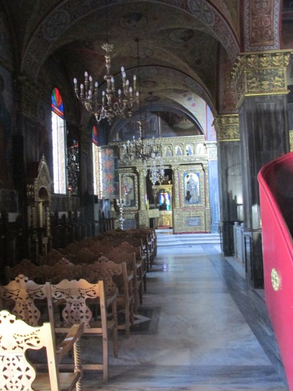 zakynthos stad Dionisios kerk