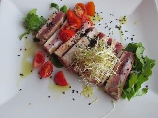 Gebakken tonijn (Taverna Fogalera, Corralejo)