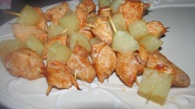 5 (makkelijke) hapjes voor oudejaarsavond. kip ananas