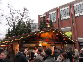 curryworst kerstmarkt Münster