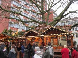 Nutella crêpe kerstmarkt Münster.