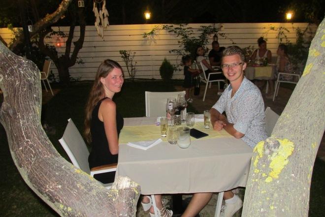 Restaurants op Zakynthos, Botanic Garden (Tsilivi).