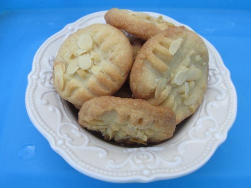 Amandel koekjes (minder suiker)