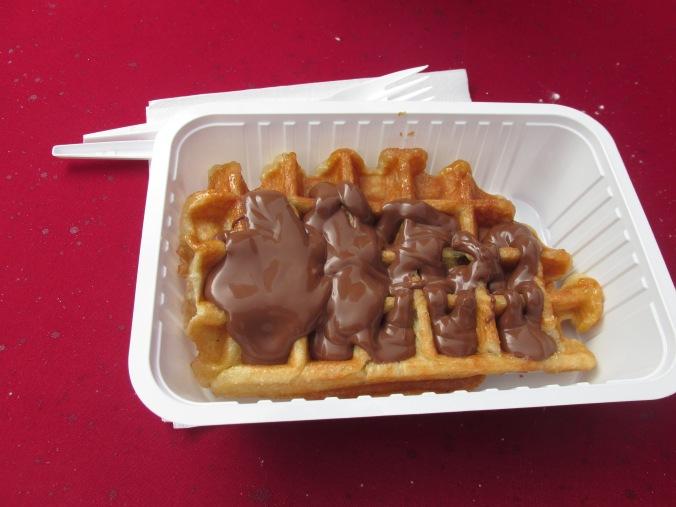 Fotoblog: Magisch Maastricht, Nutella wafel
