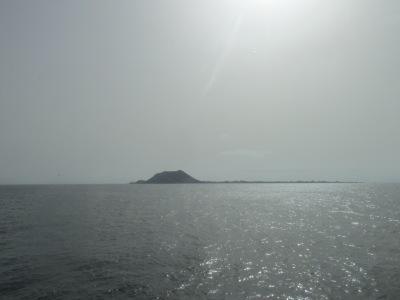 Een dag naar Lanzarote vanaf Fuerteventura. (Lobos Island)
