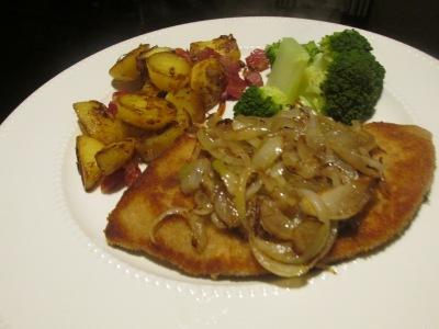 recept voor Duitse gebakken aardappelen (bratkartoffeln).
