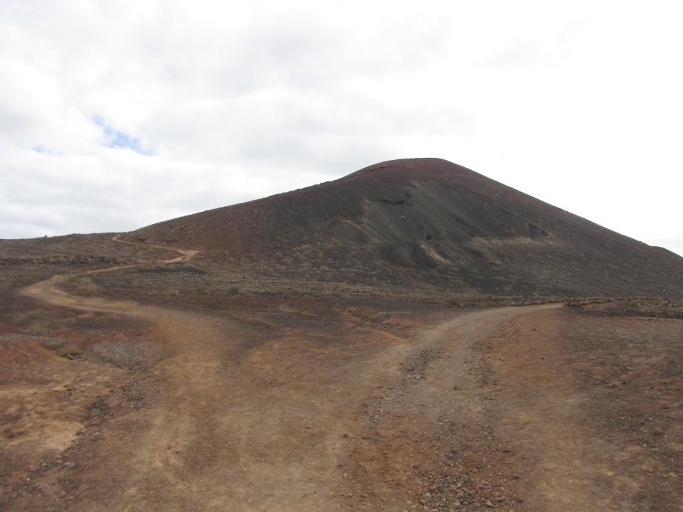 Wanneer/waarom je niet op vakantie moet gaan naar Fuerteventura. Het landschap.