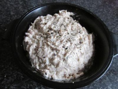 5 verjaardagshapjes (tonijnsalade)