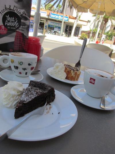 Italiaanse bakkerijen op Fuerteventura. That's Amore Corralejo.