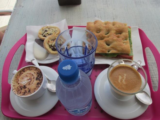 Italiaanse bakkerijen op Fuerteventura. Mill Deseos, el Cotillo.