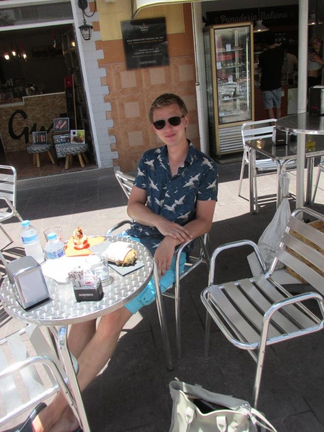 Italiaanse bakkerijen op Fuerteventura. Panadería Italiana, Corralejo.