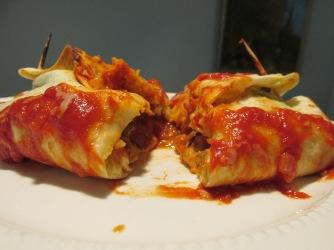 Kip enchilada's