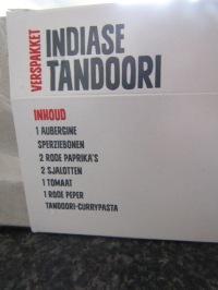 Review: AH verspakket, Indiase tandoori