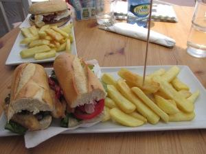Italiaanse bakkerijen op Fuerteventura. New Bakery Café, Corralejo.
