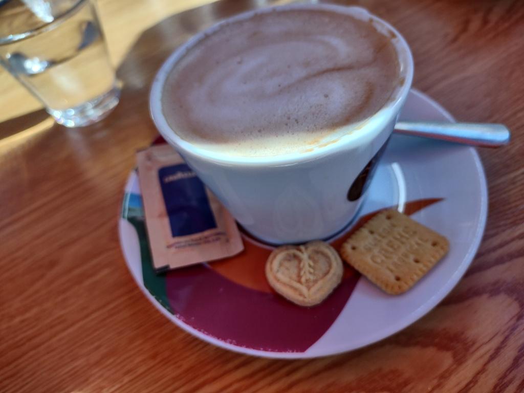 cafe con leche puerto del Rosario
